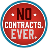 No Contracts Ever