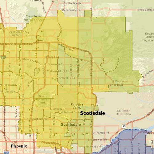 scottsdale-az-map
