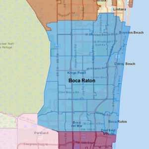 Pool Troopers Boca Raton Map