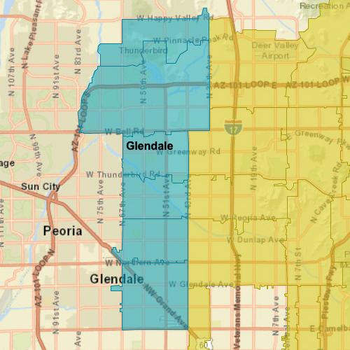 glendale-az-map